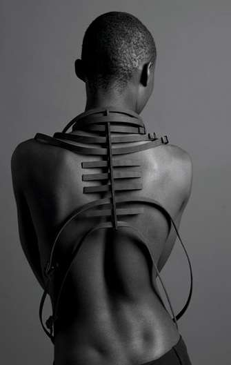 Hot Ribcage Harnesses