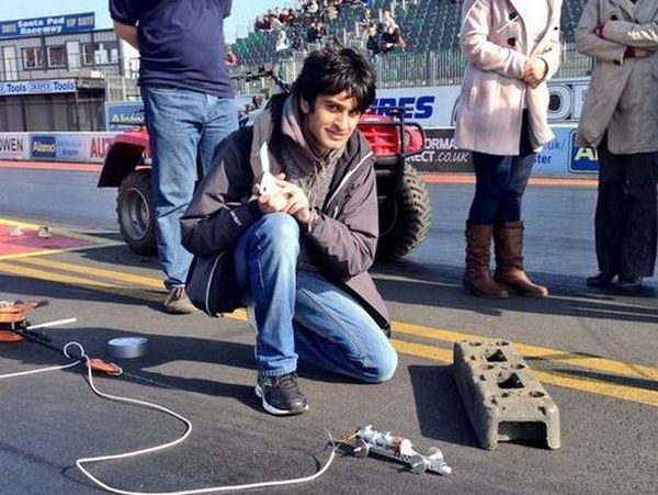 Record-Breaking Rocket Cars