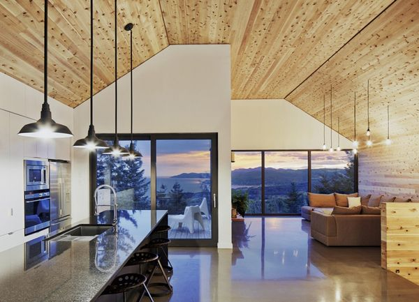 Contemporary Barn Homes