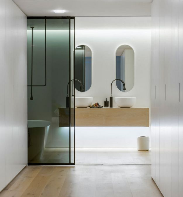 Bright Modern Bathrooms