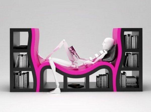 BedLike Modern Bookshelves modern bookshelves