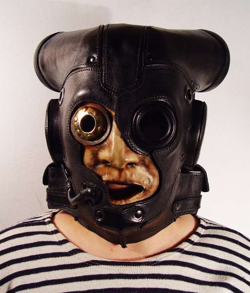 Nightmare Leather Masks