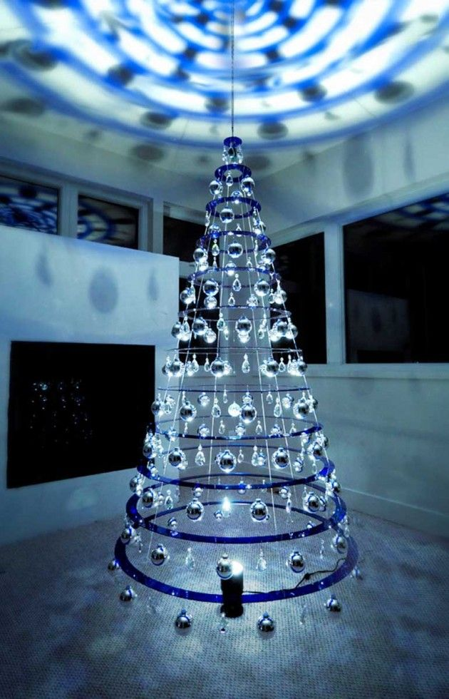 holiday tree sculptures - Modern Christmas