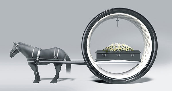 Futuristic Funeral Carriages