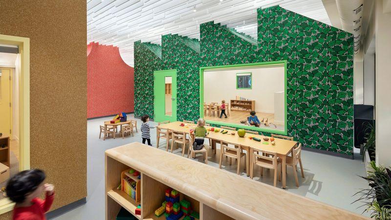 Vibrant Sculptural Education Centers