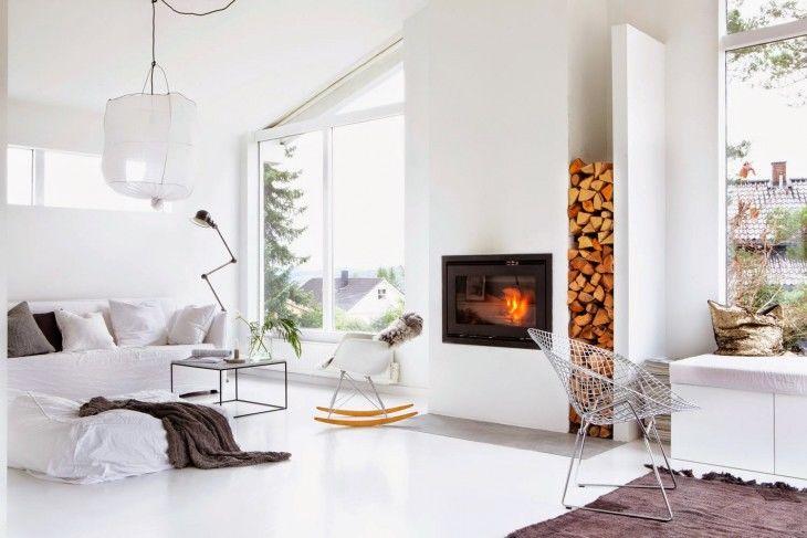 Contemporary Cabin Interiors Modern Family Home