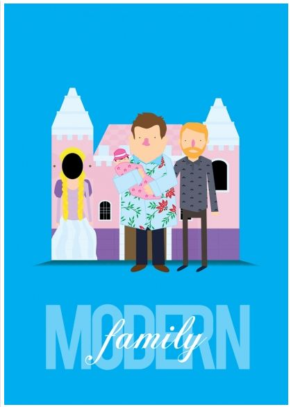 Sitcom Tribute Posters