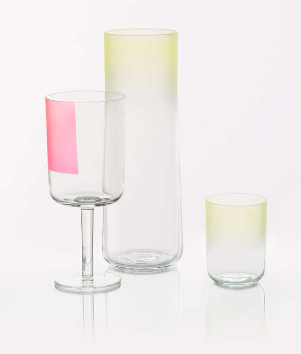 Minimalist Ombre Glassware