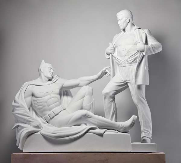 Classical Comic Sculptures