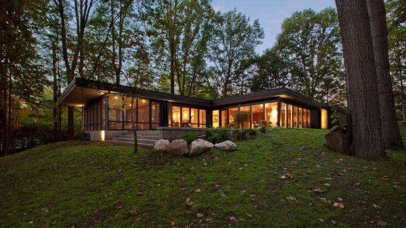 Mid Century Modern Home Renovations Modern Indianapolis Home