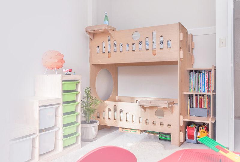 Screwless Modern Kid's Furniture -