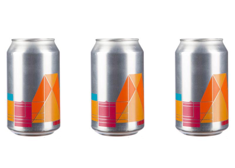 Geometric Beer Branding