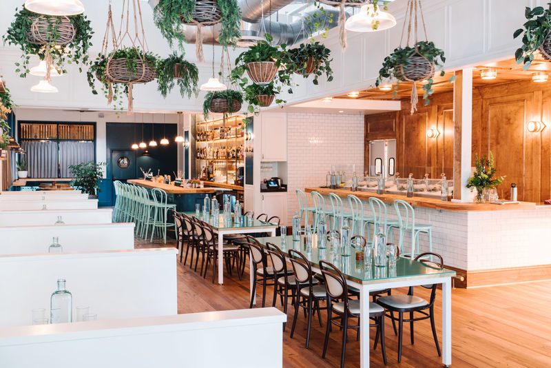Bon Romantically Modern Seafood Restaurants