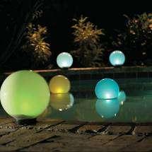 Modern Solar Outdoor LightModern Solar Outdoor Light   Magic Globe Solar Light Sphere. Modern Solar Garden Lighting. Home Design Ideas