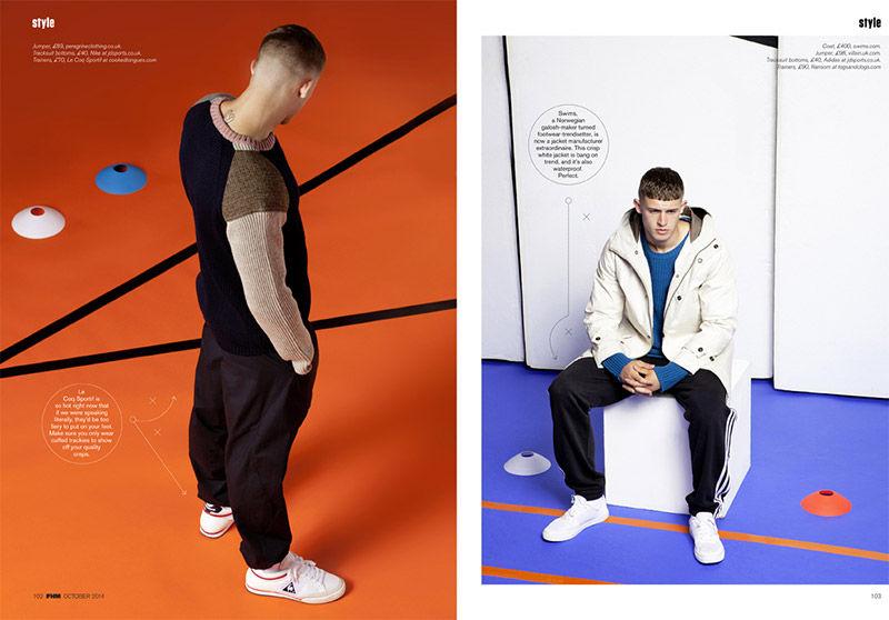 Modern Sportswear Editorials