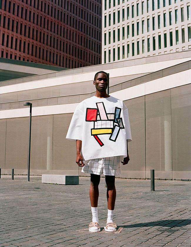 Bold Modernism Menswear