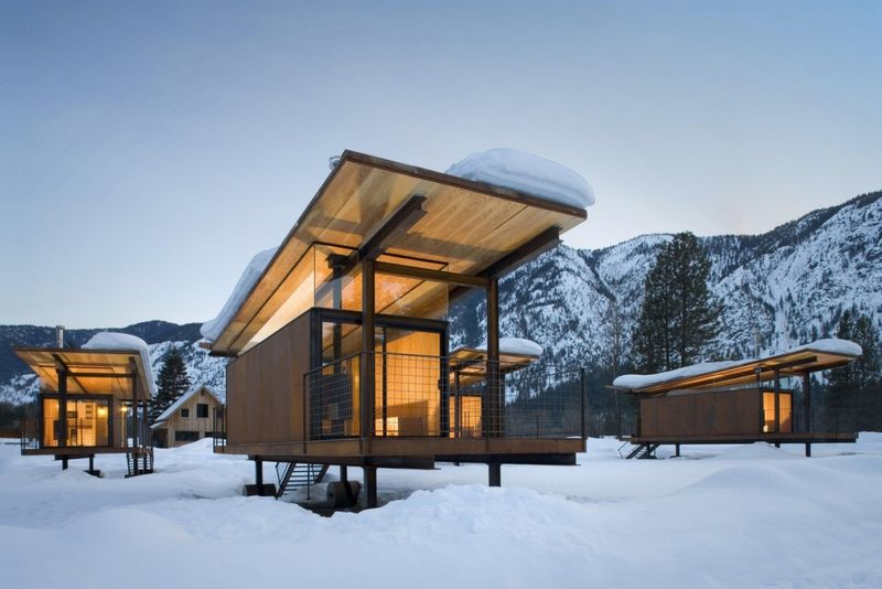 Modernized Camping Shelters