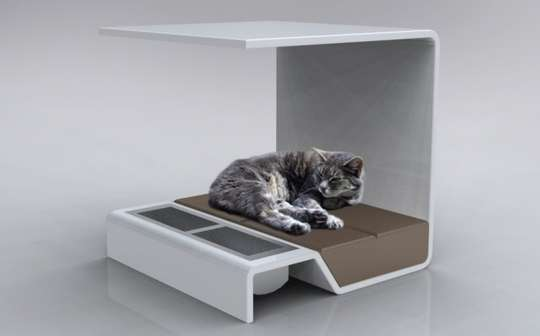 modern cat furniture canopy pet beds pamper your feline friend with the modern 11475