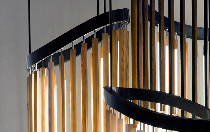 Chime-Inspired Chandelier Designs
