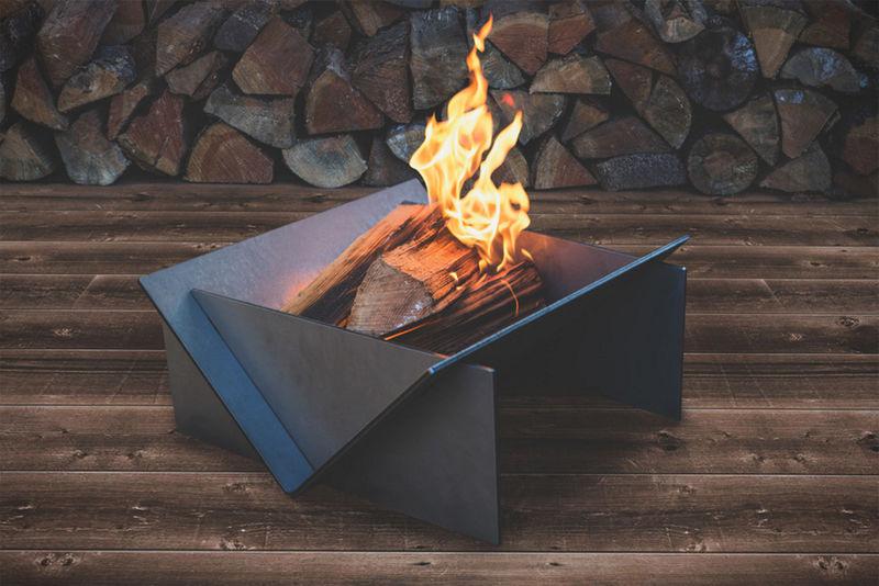 Ageless modular firepits modular firepit for Prefab fire pits