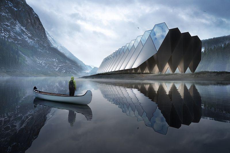 Eco-Conscious Modular Hotel Concepts
