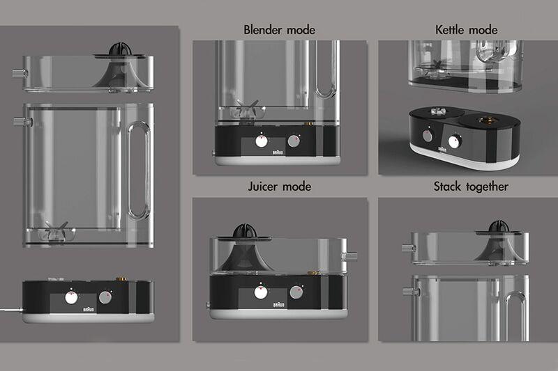 Interchangeable Component Kitchen Appliances