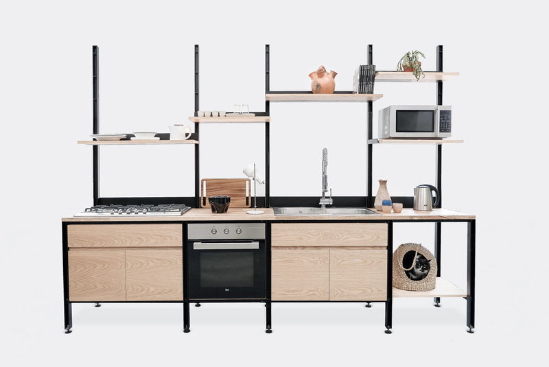 Modular Kitchen Stations