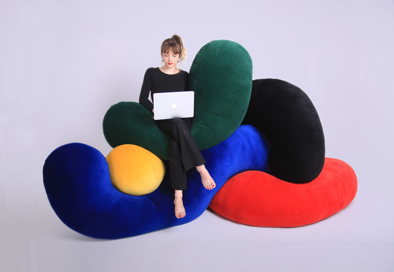 Rearrangeable Modular Seating Designs