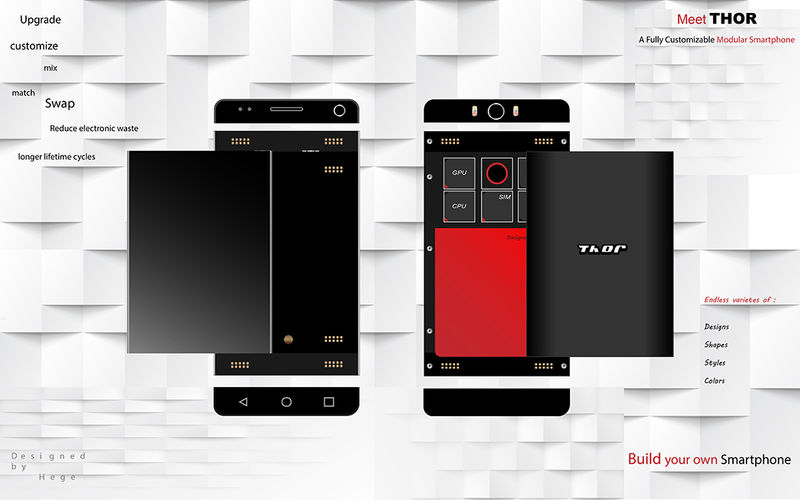 Customizable Modular Smartphones