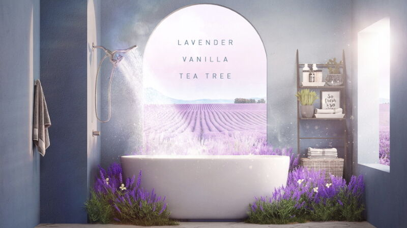 Soothing Aromatherapy Showers