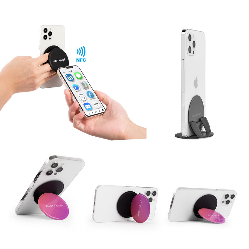 NFC-Enabled Phone Stands