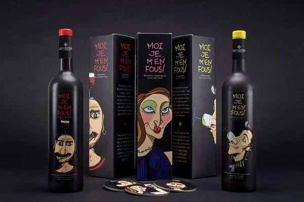 Caricatured Beverage Branding