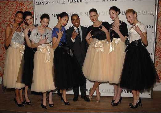 long ballerina skirts moises de la renta for mango. Black Bedroom Furniture Sets. Home Design Ideas