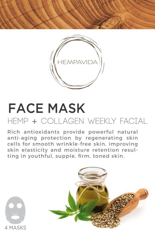 Soothing Hemp Face Masks