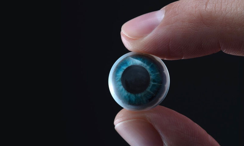 Connected Contact Lenses