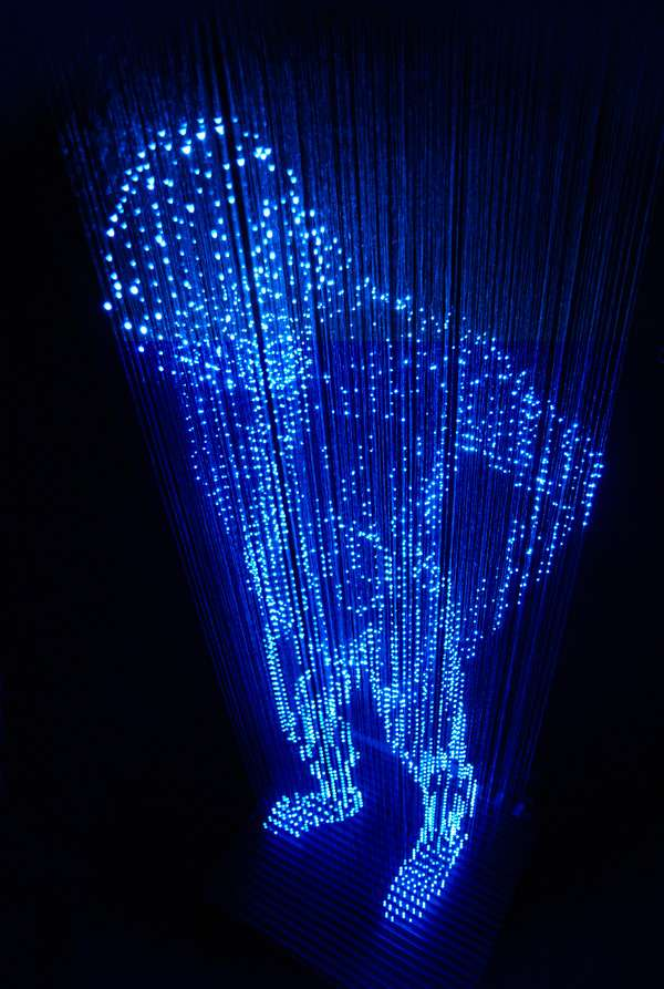 Holographic Light Sculptures
