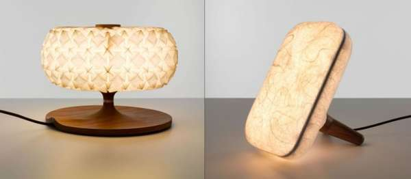 Organic Origami Lighting