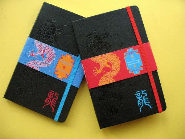 Dragon-Embossed Notepads