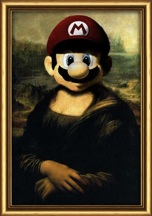 Nerdified Iconic Paintings