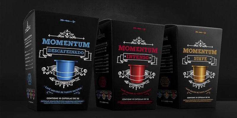 Chalkboard Coffee Pod Branding