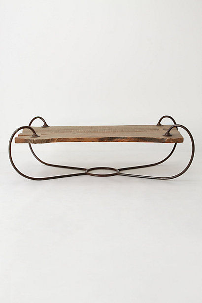 Sled-Inspired Wood Furnishings