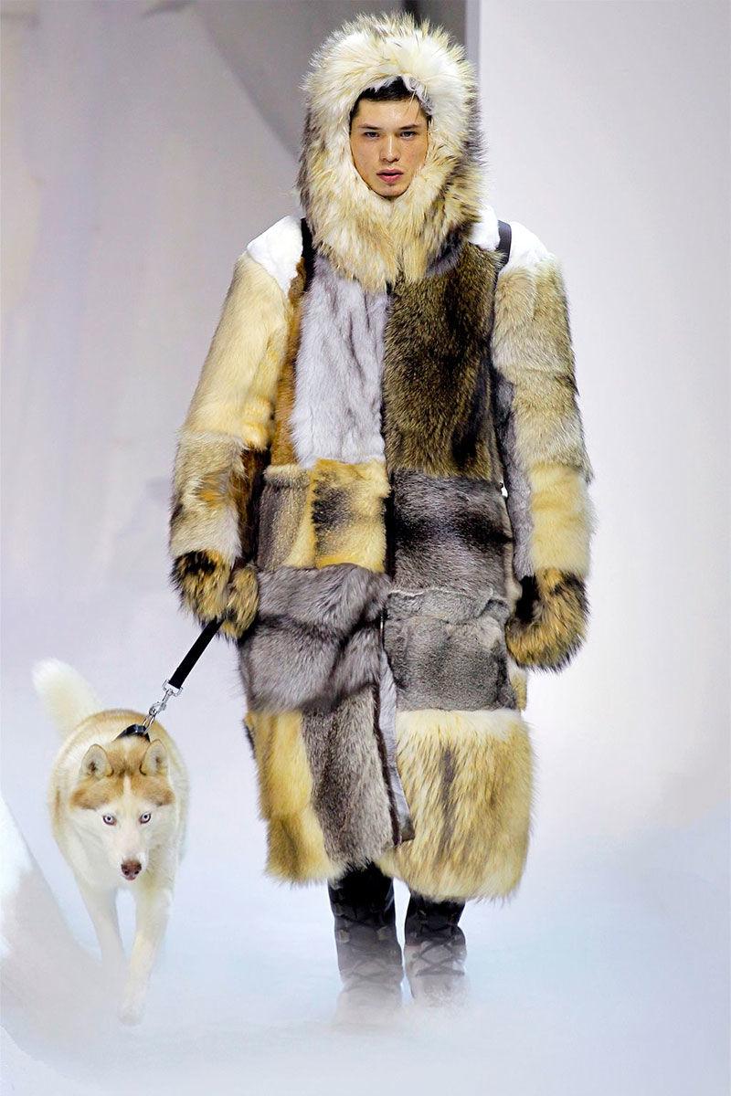 haute eskimo couture moncler gamme rouge fallwinter 2013