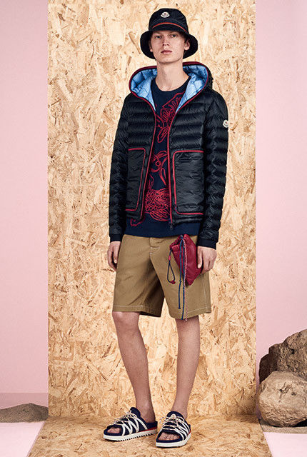 Transitional Patterned Spring Collections : Moncler