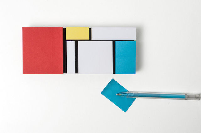De Stijl Stationary Sets