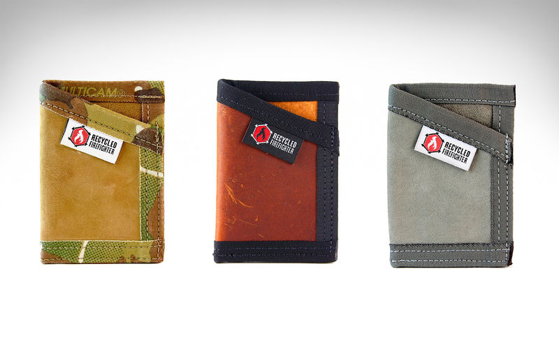 Decommissioned Fire Hose Wallets