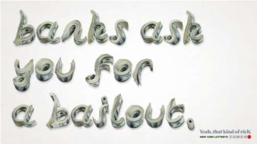 Stacked Money Typography