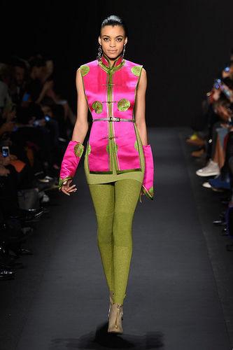 Vibrant Mongolian Fashion