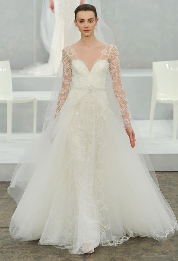 Ethereally Romantic Wedding Gowns : Monique Lhuillier 2015 Bridal