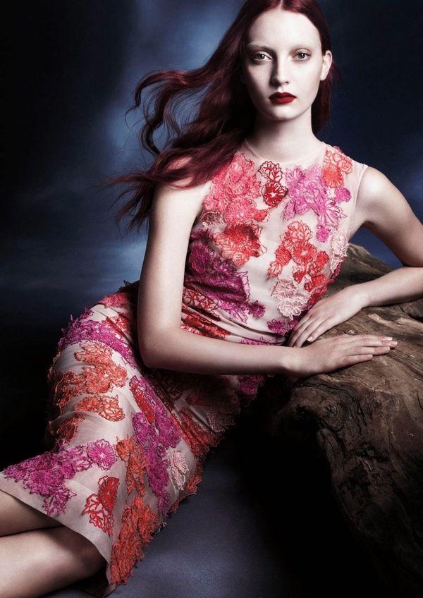 Mystically Scarlet Fashion Ads