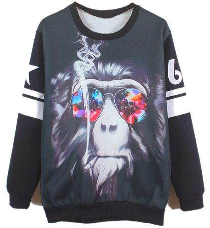 Blitzed Baboon Sweaters